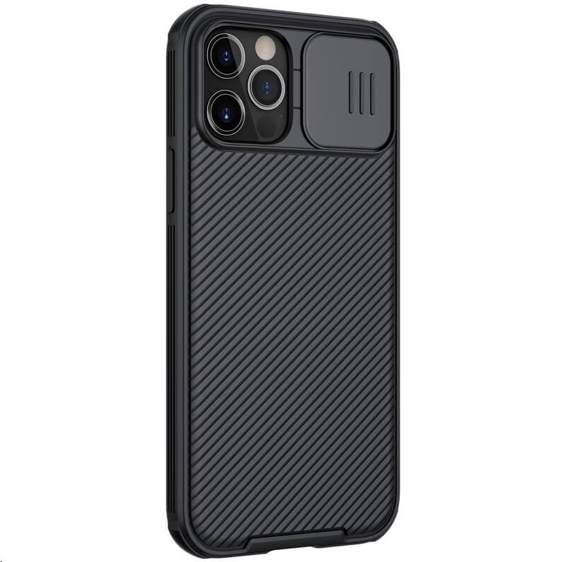 Zadní kryt Nillkin CamShield Pro Magnetic pro Apple iPhone 12/12 Pro, černá