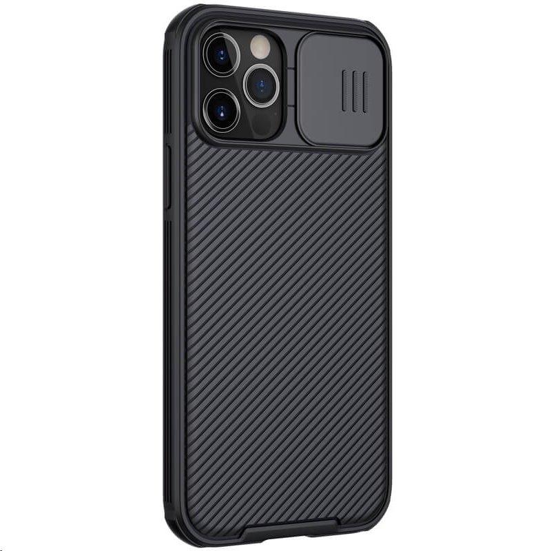 Zadní kryt Nillkin CamShield Pro Magnetic pro Apple iPhone 12 Pro Max, černá