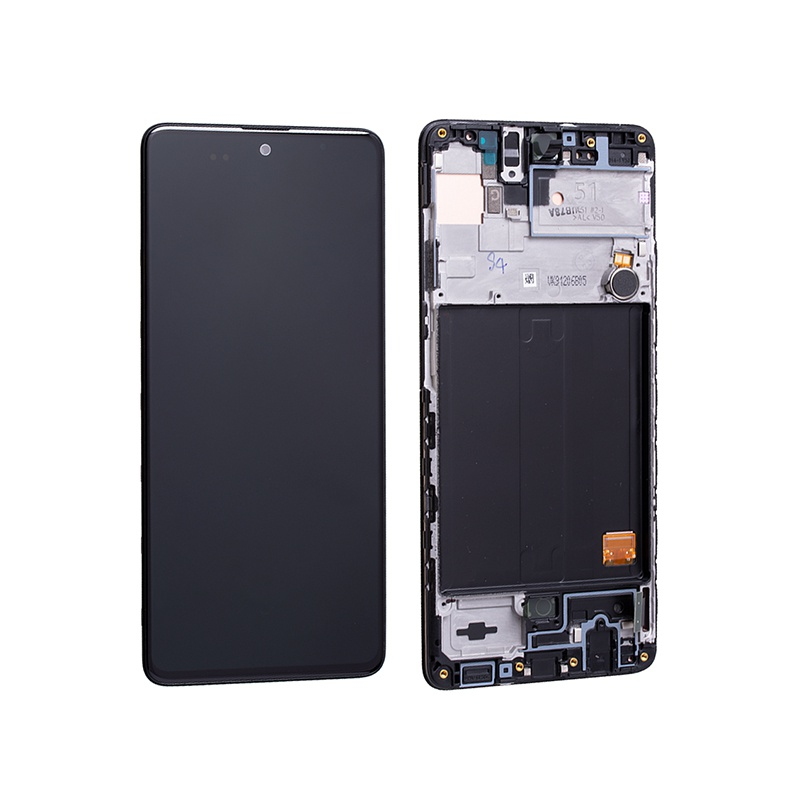 LCD + dotyk pro Samsung Galaxy A51 5G, pink ( Service Pack )