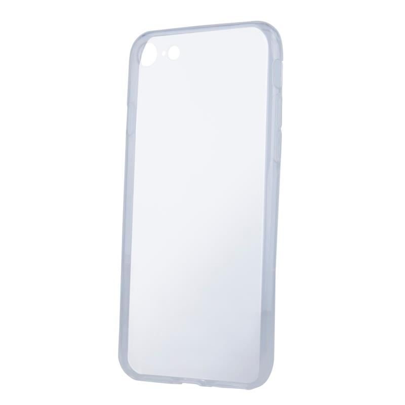 Silikónové puzdro Slim 1mm pre Samsung Galaxy S21 Ultra, transparentná