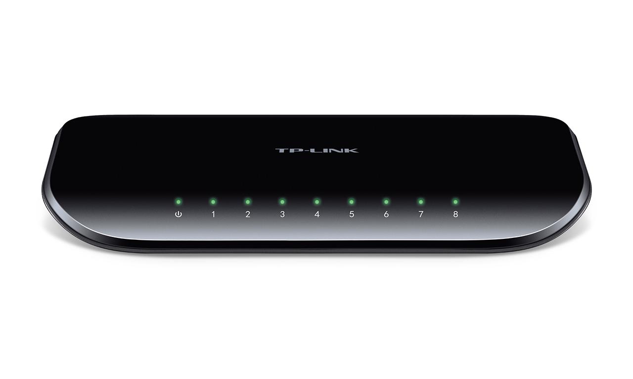 TP-Link TL-SG1008D 8x Gigabit Desktop Switch