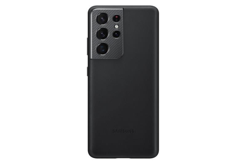 Ochranný kryt Samsung Leather Cover EF-VG998LBEGWW pre Samsung Galaxy S21 Ultra, čierna
