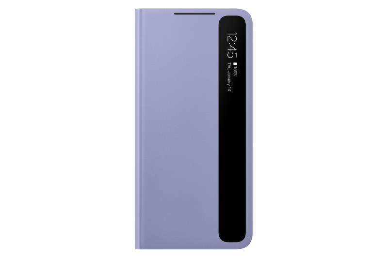 Flipové puzdro Clear View Cover ZG996CVEGEE pre Samsung Galaxy S21 +, fialová