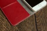 Flipové puzdro FIXED FIT pre Samsung Galaxy A21s, červená