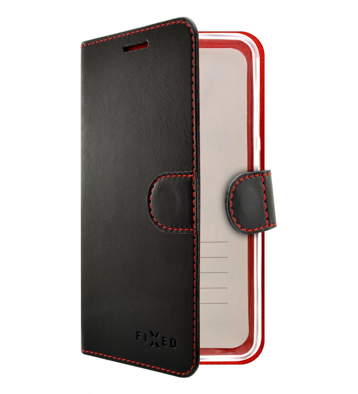 Flipové puzdro FIXED FIT pre Xiaomi Redmi 9, čierna