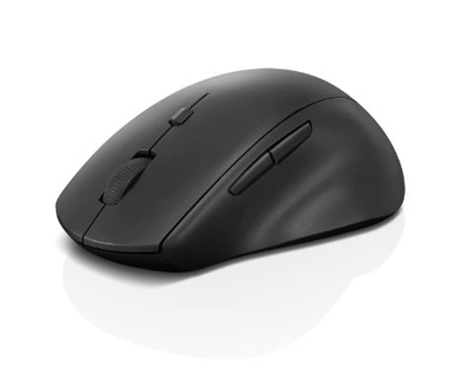 Ergonomická myš Lenovo 600 Wireless Media Mouse, bezdrátová, černá