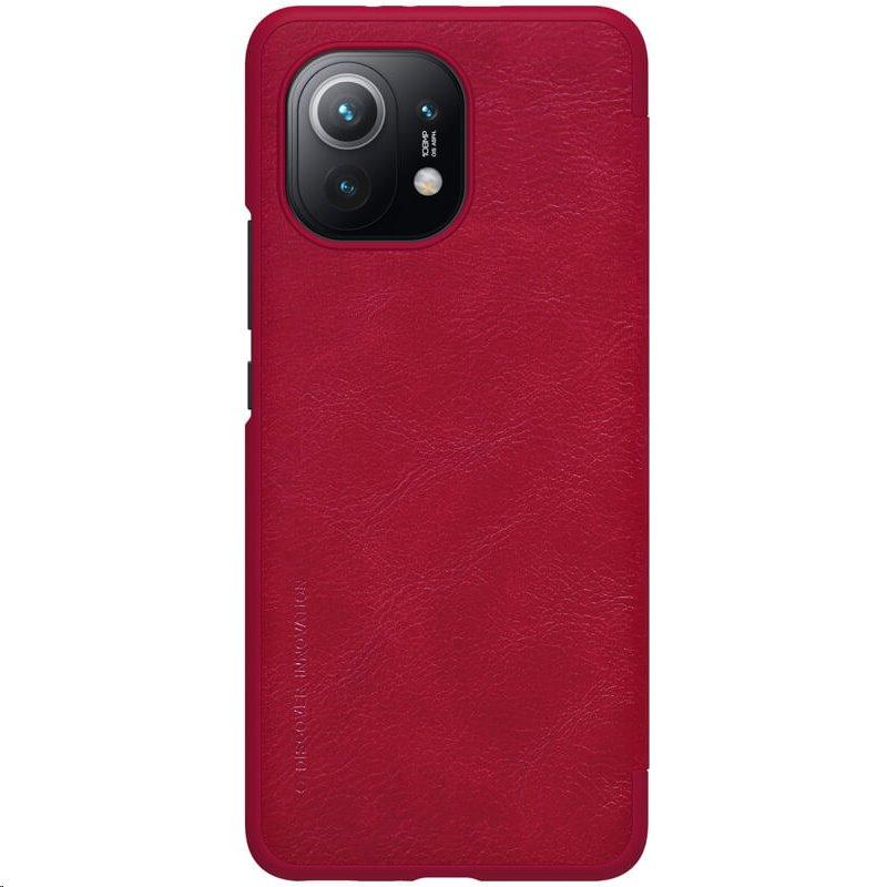 Nillkin Qin flipové pouzdro pro Xiaomi Mi 11, red