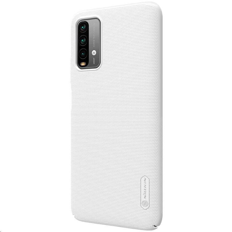 Zadní kryt Nillkin Super Frosted pro Xiaomi Redmi 9T, bílá