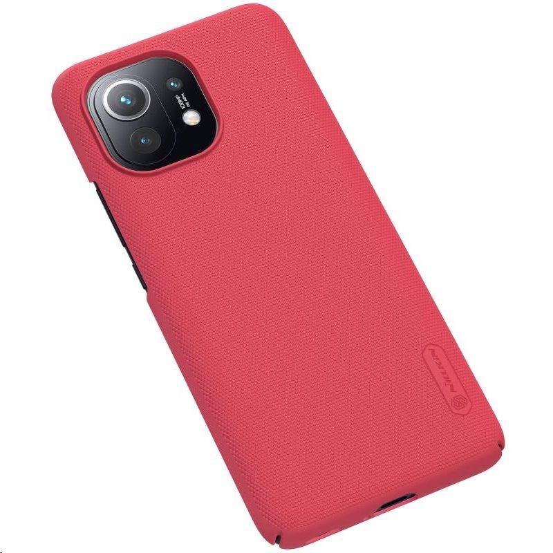 Zadní kryt Nillkin Super Frosted pro Xiaomi Mi 11, červená
