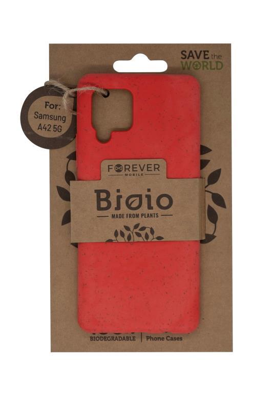 Zadní kryt Forever Bioio pro Samsung A42 5G červený