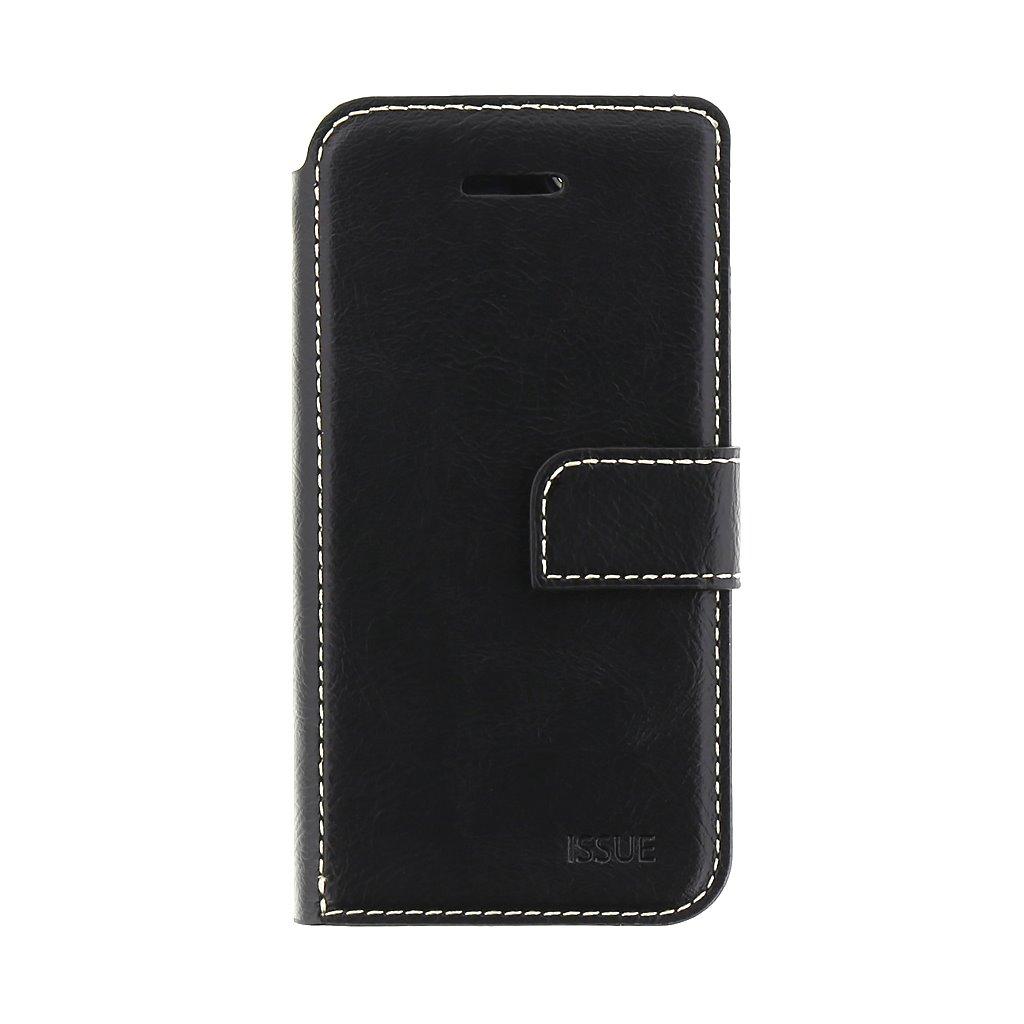 Flipové pouzdro Molan Cano Issue pro Samsung Galaxy A02s, černá