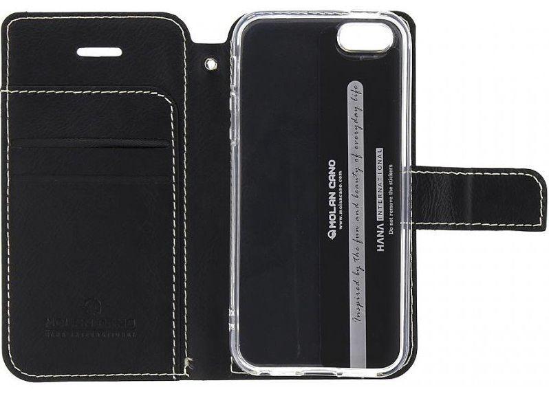 Molan Cano Issue Book Samsung Galaxy A02s, Black