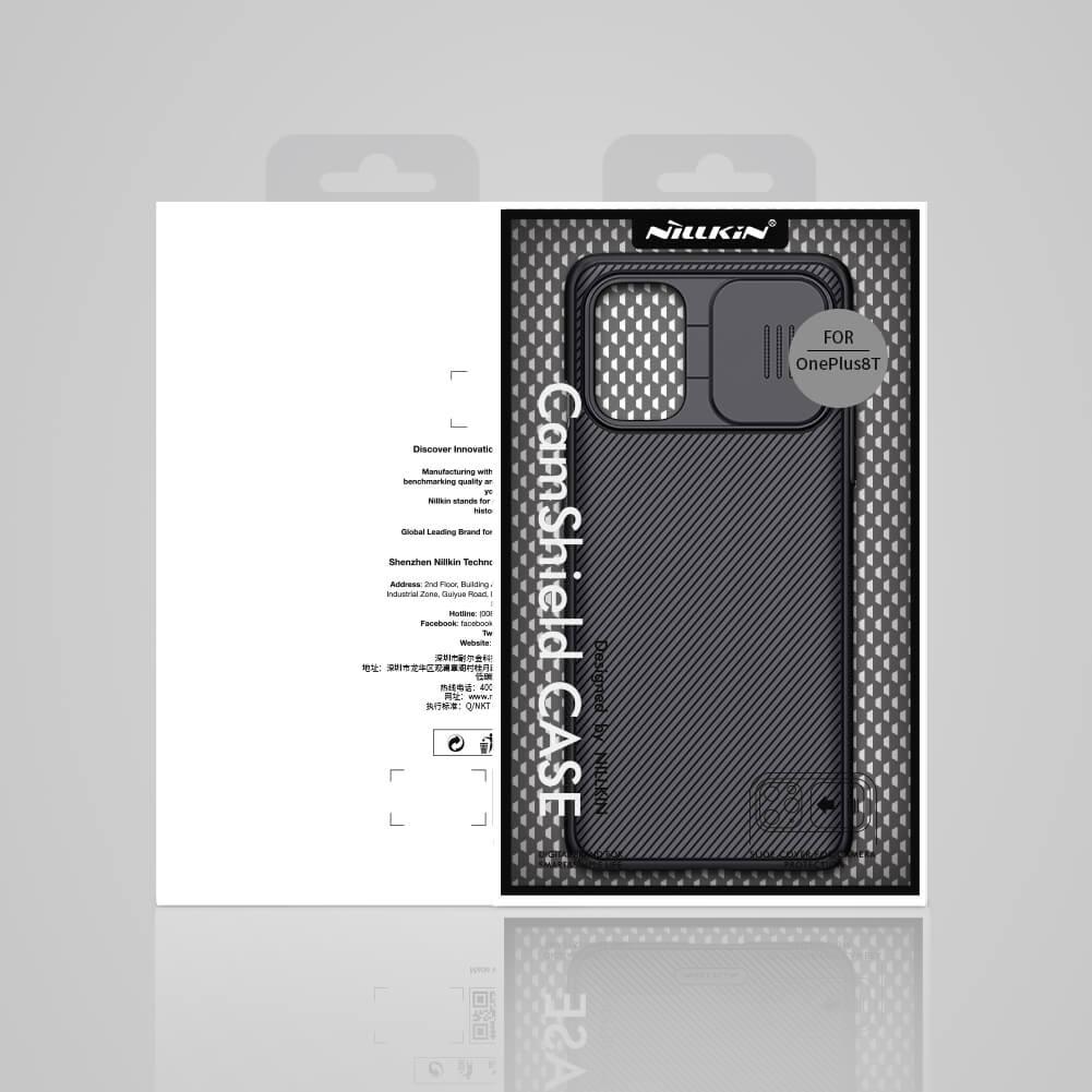 Zadní kryt Nillkin CamShield pro OnePlus 8T, černá