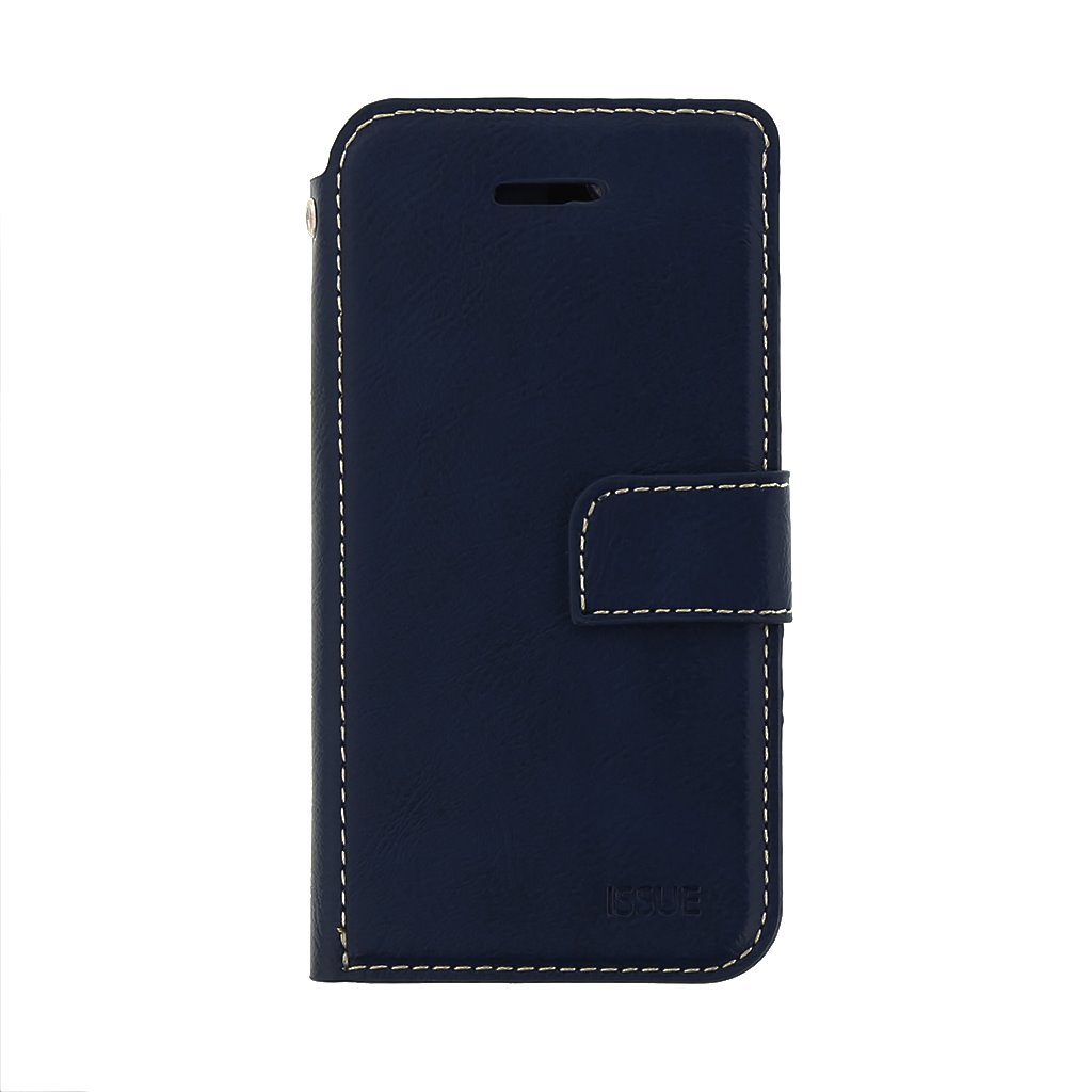 Flipové pouzdro Molan Cano Issue pro Samsung Galaxy A12, modrá