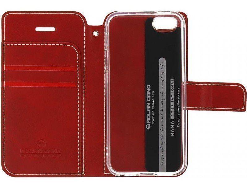 Molan Cano Issue Book Pouzdro pro Xiaomi Poco M3 Red