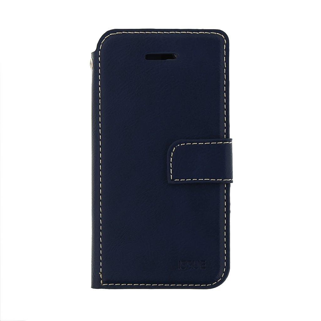 Flipové pouzdro Molan Cano Issue pro Samsung Galaxy A02s, modrá