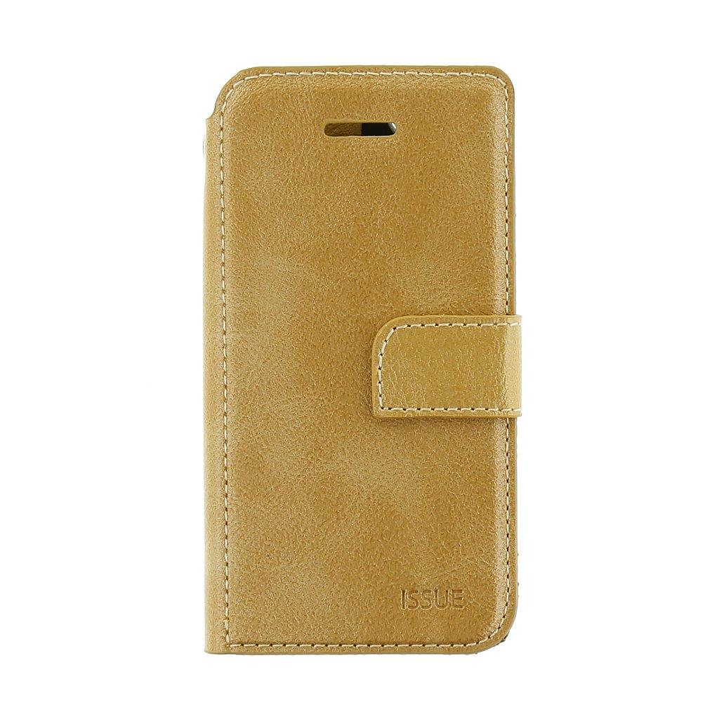 Flipové pouzdro Molan Cano Issue pro Samsung Galaxy A02s, zlatá
