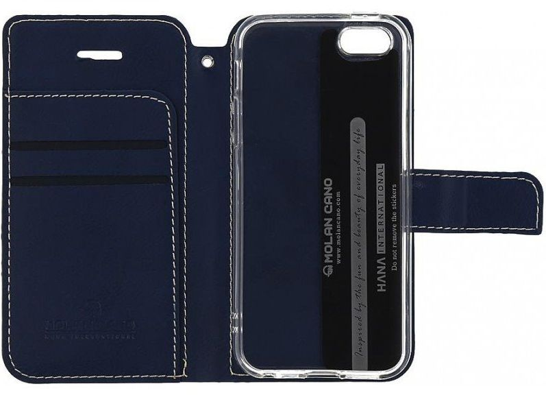 Molan Cano Issue Book Pouzdro pro Samsung Galaxy A32 Navy