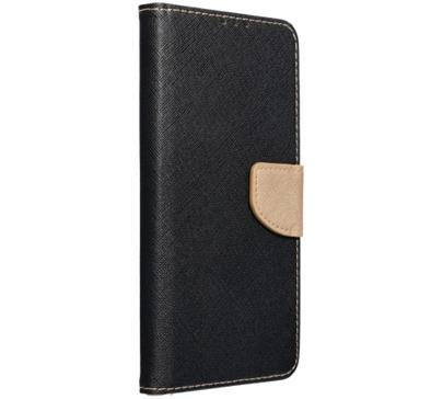 Flipové pouzdro kniha Fancy Diary pro Xiaomi Redmi 9C, černo-zlatá