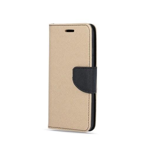 Flipové pouzdro kniha Fancy Diary pro Samsung Galaxy A51, zlato-černá