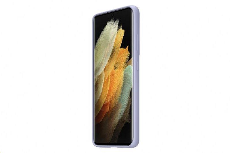 Silikonové pouzdro Samnsung EF-PA725TVE pro Samsung Galaxy A72, fialová