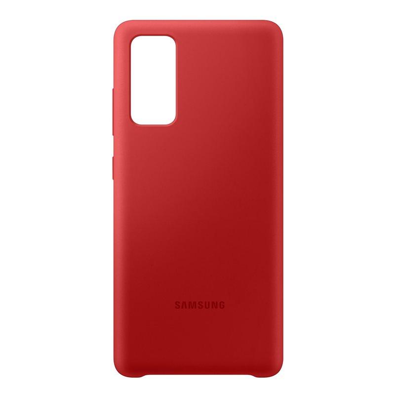 Silikonové pouzdro Samsung EF-PG780TRE pro Samsung Galaxy S20 FE, červená