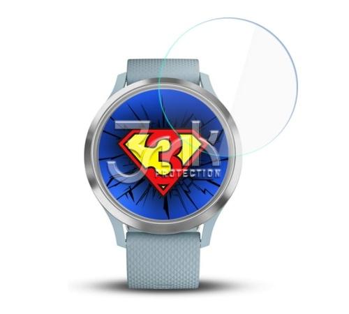 Hybridní sklo 3mk Watch pro Garmin Vivomove 3 (3ks)