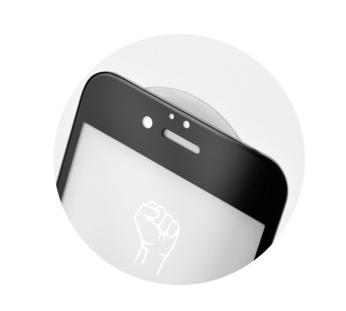 Tvrzené sklo Roar 5D pro Samsung Galaxy A42 5G, černá