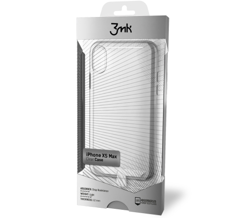 Silikonové pouzdro 3mk Clear Case pro Samsung Galaxy A12, čirá