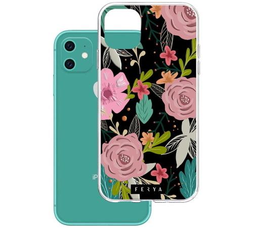 Ochhranný kryt 3mk Ferya Armor case pro Apple iPhone 11, rosa