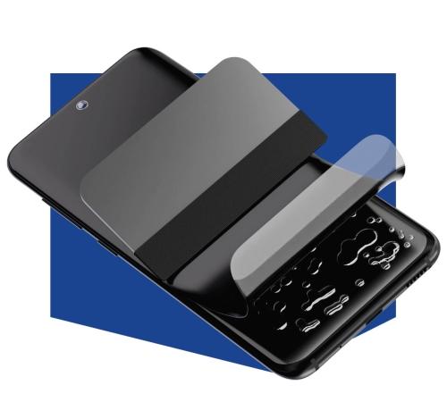 Ochranná antimikrobiální 3mk fólie Silver Protection+ pro Samsung Galaxy A12