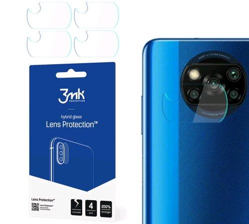 Hybridní sklo 3mk Lens ochrana kamery pro Xiaomi POCO X3