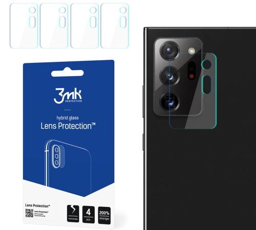 Hybridní sklo 3mk Lens ochrana kamery pro Samsung Galaxy Note20 Ultra