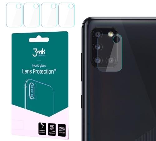 Hybridní sklo 3mk Lens ochrana kamery pro Samsung Galaxy A31