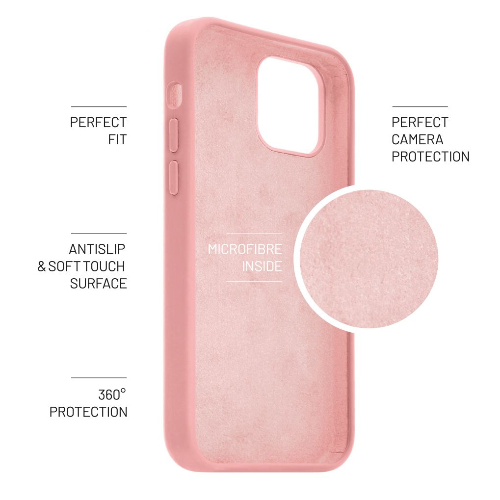 FIXED Flow zadní kryt pro Samsung Galaxy A41, růžová