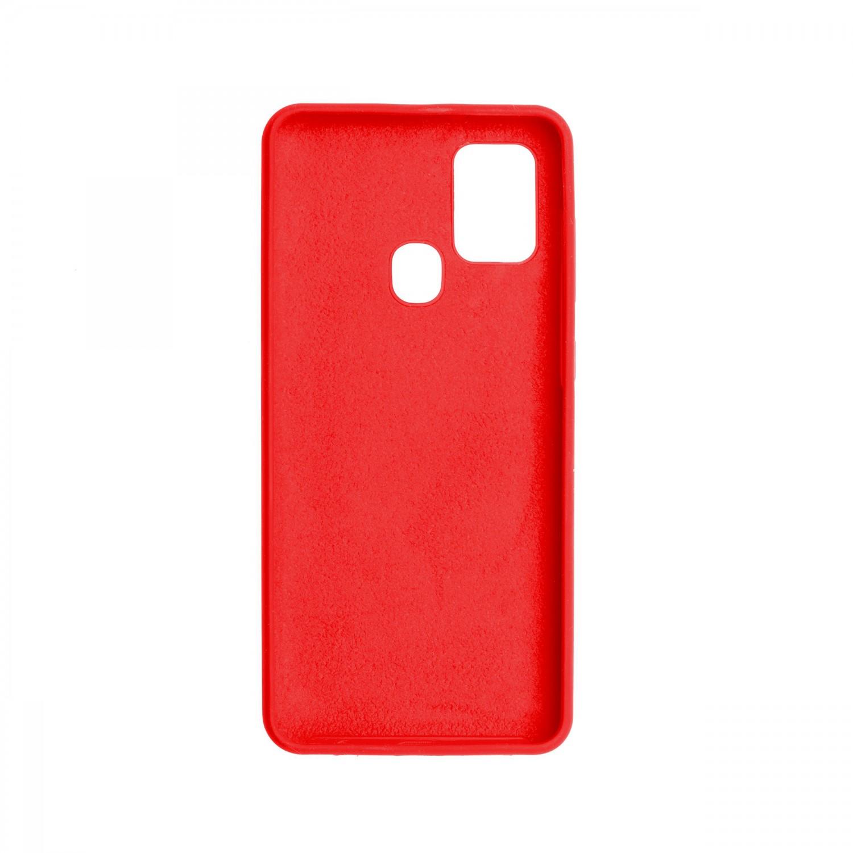 FIXED Flow zadní kryt pro Samsung Galaxy A21s, červená