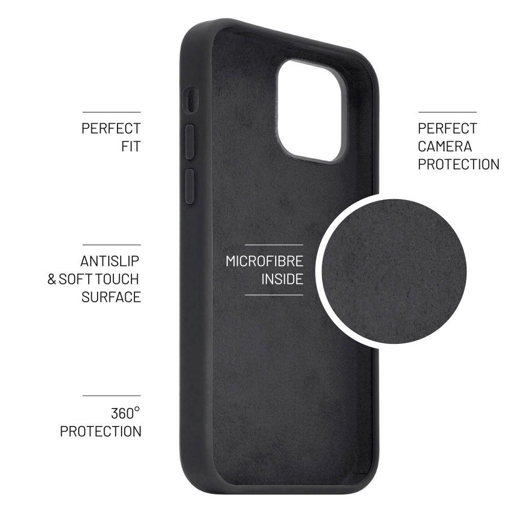 FIXED Flow zadní kryt pro Samsung Galaxy A21s, černá