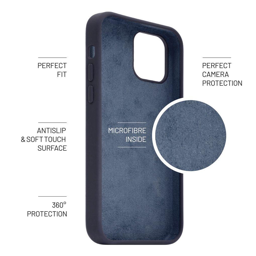 FIXED Flow zadní kryt pro Apple iPhone 12 Pro Max, modrá