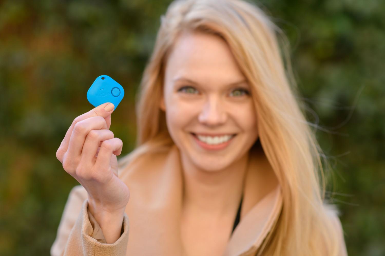 Smart tracker FIXED Smile PRO, Duo Pack - modrý + červený