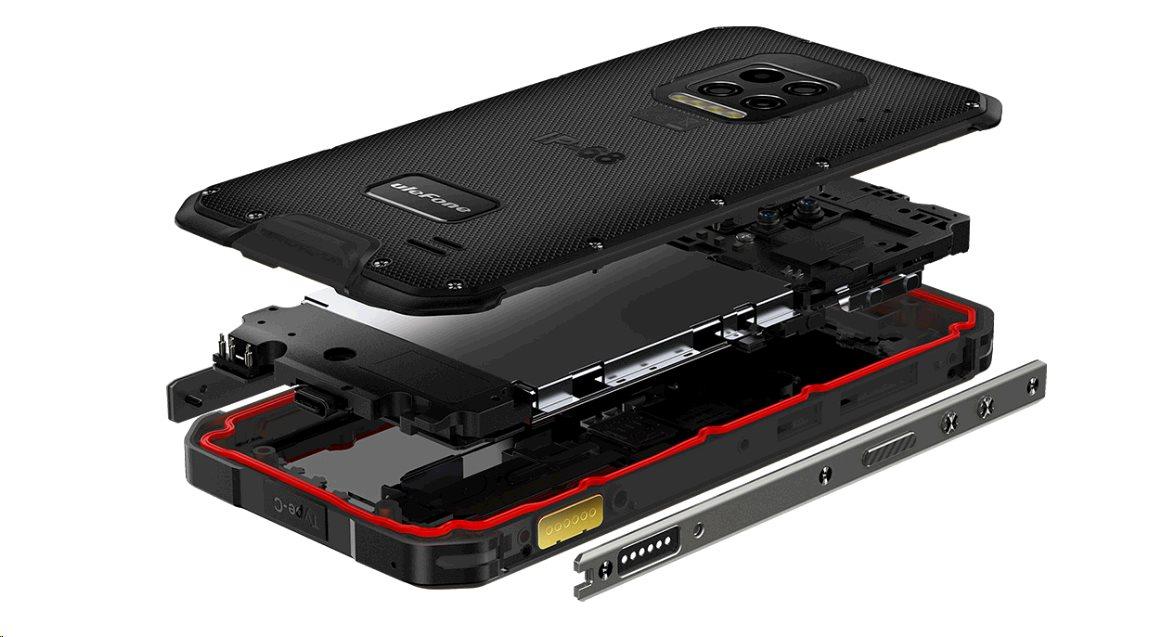 UleFone Armor 9E DS 8+128GB gsm tel. Black