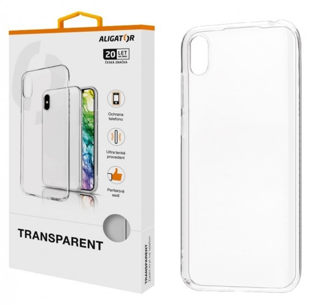 Silikonové pouzdro TRANSPARENT ALIGATOR pro Samsung Galaxy S21 5G