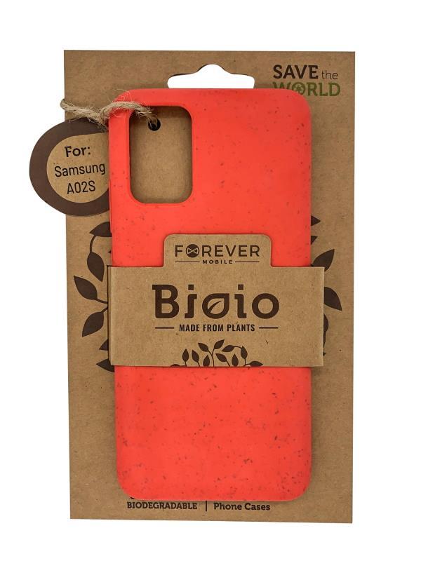 Eko pouzdro Forever Bioio pro Samsung Galaxy A02S, červená