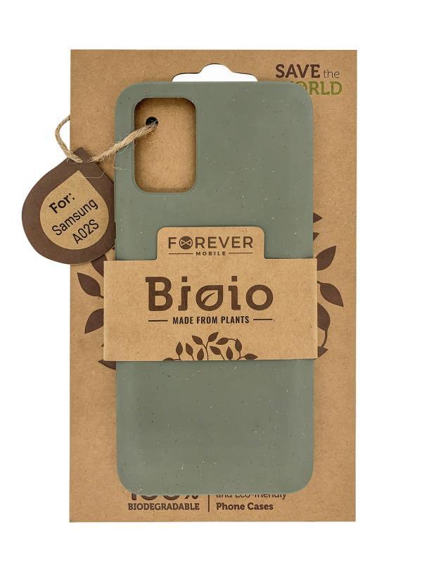 Eko pouzdro Forever Bioio pro Samsung Galaxy A02S, zelená