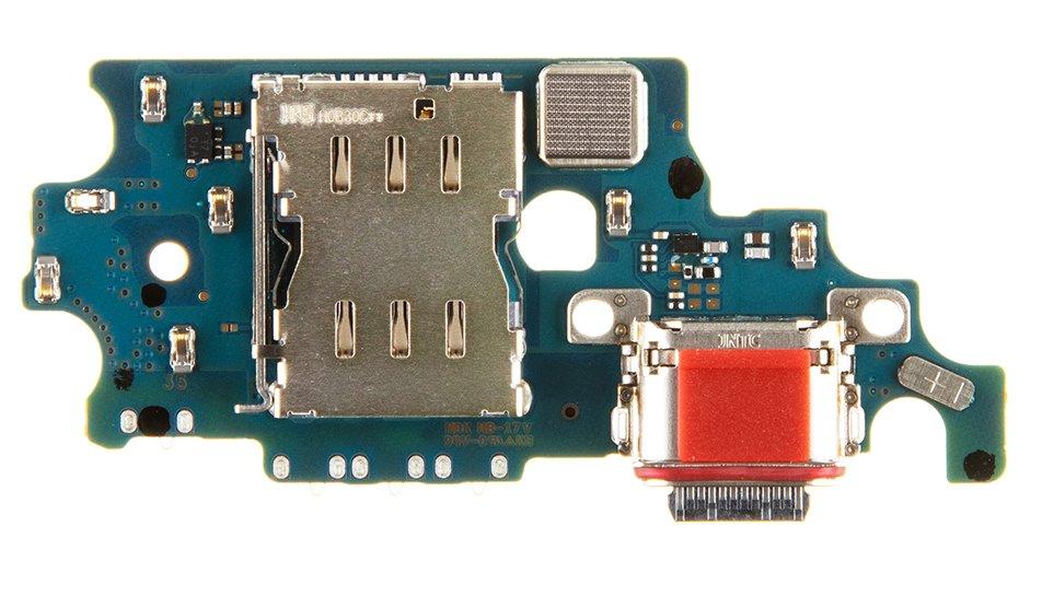 Samsung G996 Galaxy S21+ Deska vč. Dobíjecího Konektoru (Service Pack)