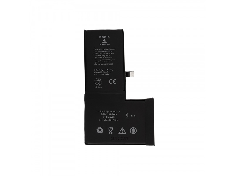 Battery WiTech Tw Chip pro Apple iPhone X
