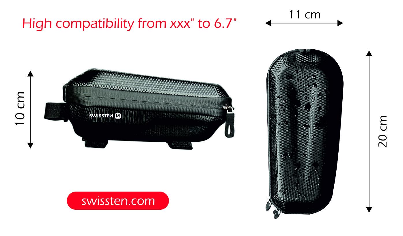 Vodotěsné pouzdro na kolo Swissten č. 3