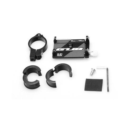 Držák na kolo kovový G81, černá