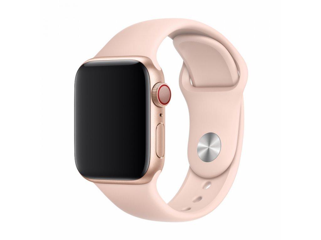 Řemínek Devia Deluxe Sport pro Apple Watch 44mm/42mm, růžová
