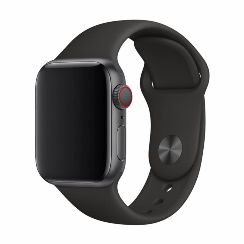 Řemínek Devia Deluxe Sport pro Apple Watch 44mm/42mm černý