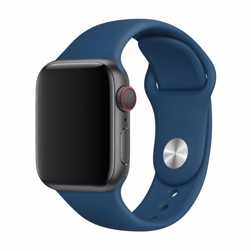 Řemínek Devia Deluxe Sport pro Apple Watch 40mm/38mm modrý